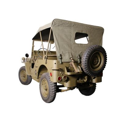 BACHE JEEP TOILE TRAITEE USA COLLECTION