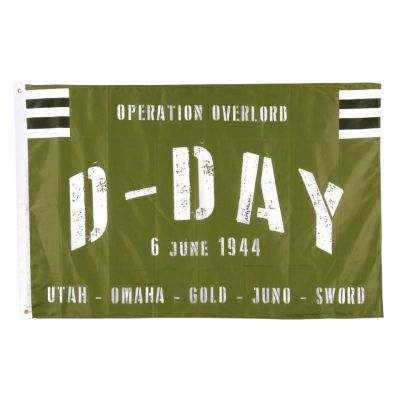 DRAPEAU D-DAY - OPERATION OVERLORD