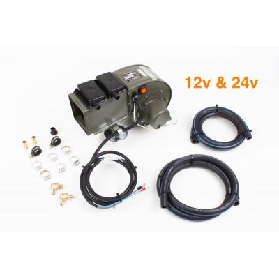 CHAUFFAGE JEEP KIT COMPLET 12V/ 24V