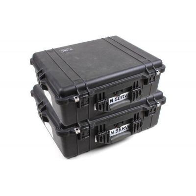 VALISE PELI 1600 CASE (LOT DE 2)