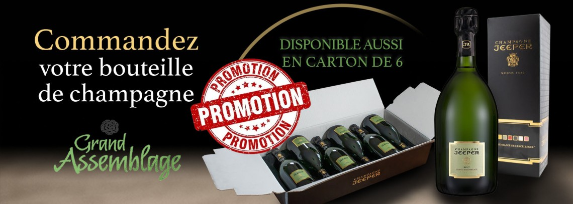 Champagne promos !