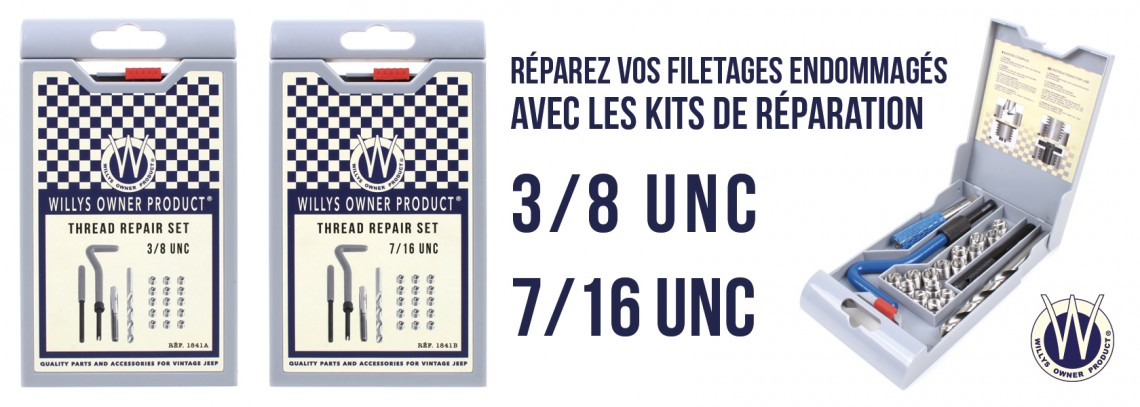 Kit de réparation filetage