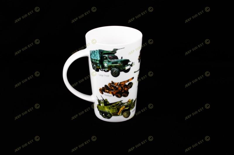 mug emaille grande taille vehicules us mugs accessoires cadeaux deco. Black Bedroom Furniture Sets. Home Design Ideas