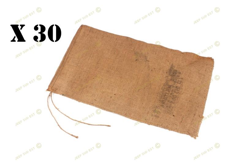 sac a sable toile de jute beige lot de 30 accessoires armement fr accessoires armement armement. Black Bedroom Furniture Sets. Home Design Ideas