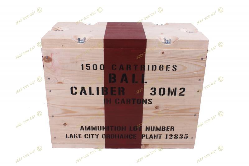 caisse bois munition repro boites munitions collector armement. Black Bedroom Furniture Sets. Home Design Ideas