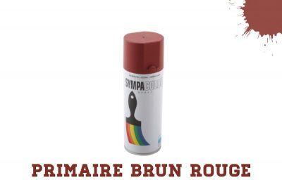 Spray 400 ml brun rouge primaire anti rouille peinture en spray peintures accessoires - Bombe anti rouille ...